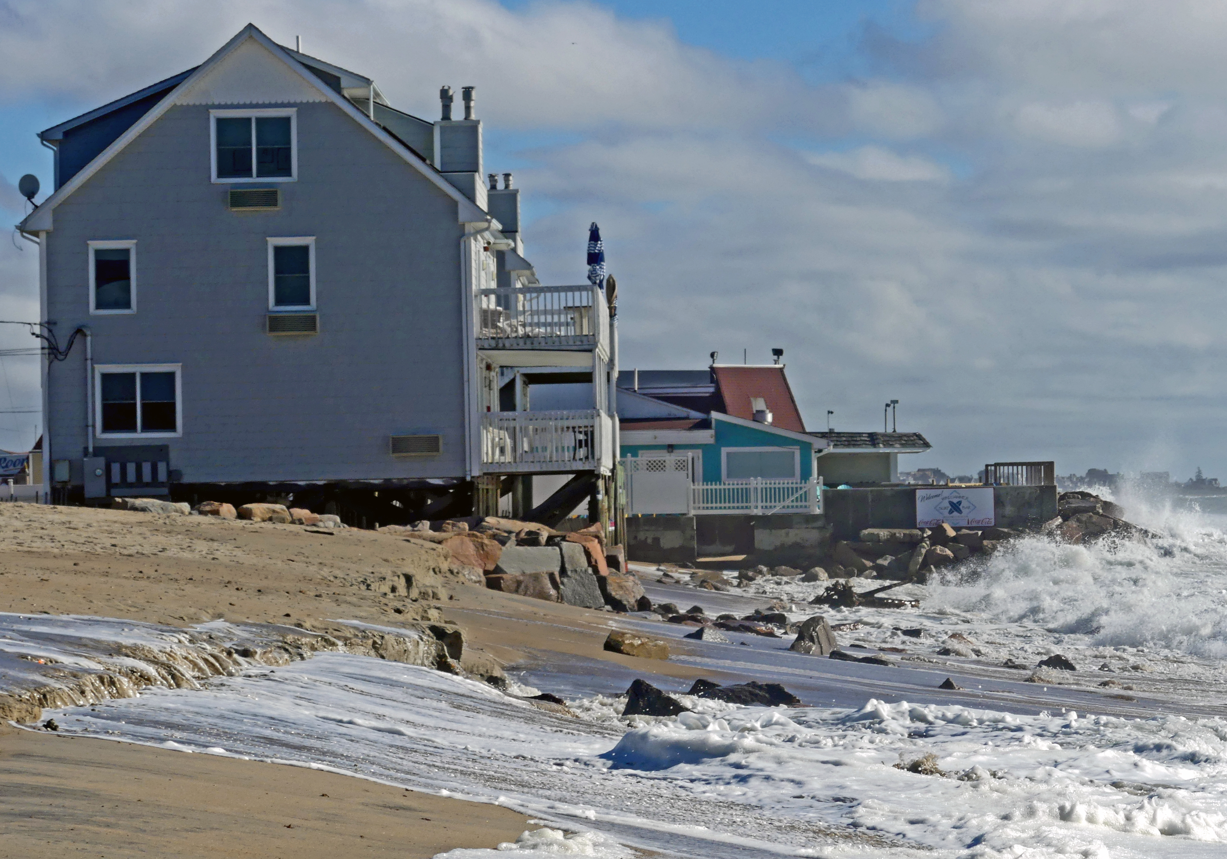 Homes along Westerly's shoreline threatened by rising tides
