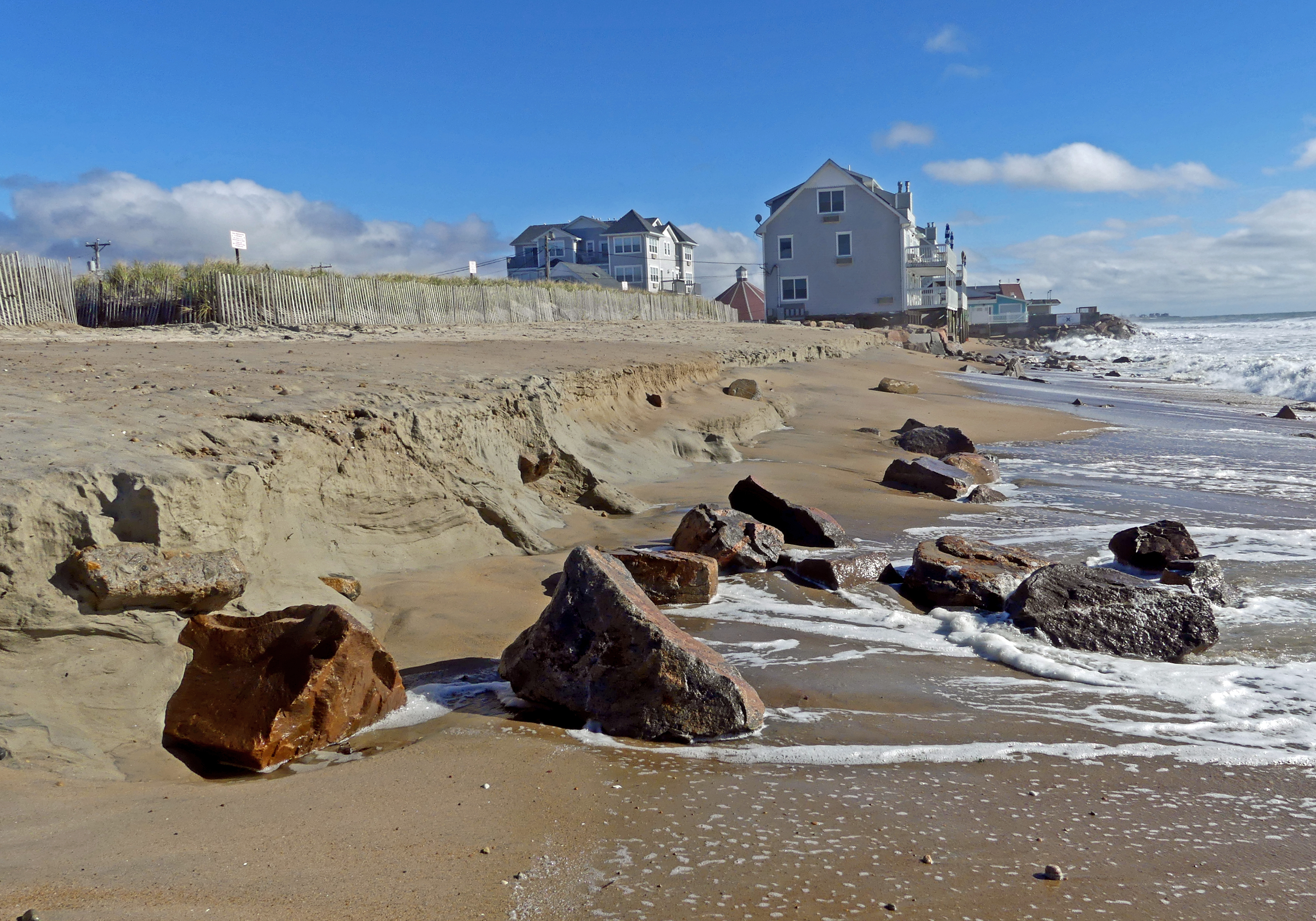 Westerly Town Beach Erosion