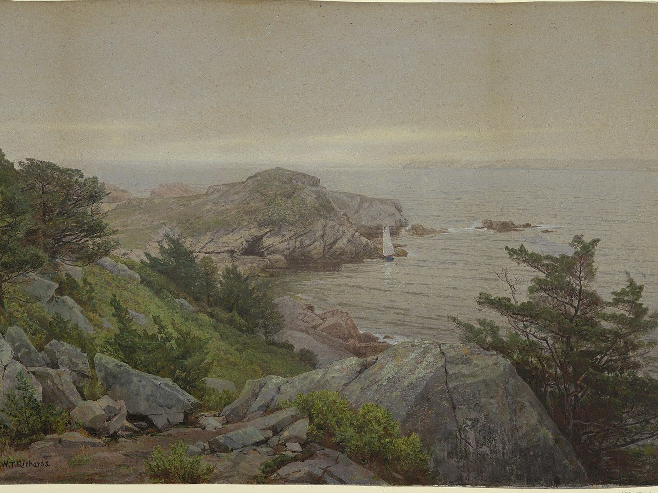 Mackerel Cove, Jamestown RI, c 1877