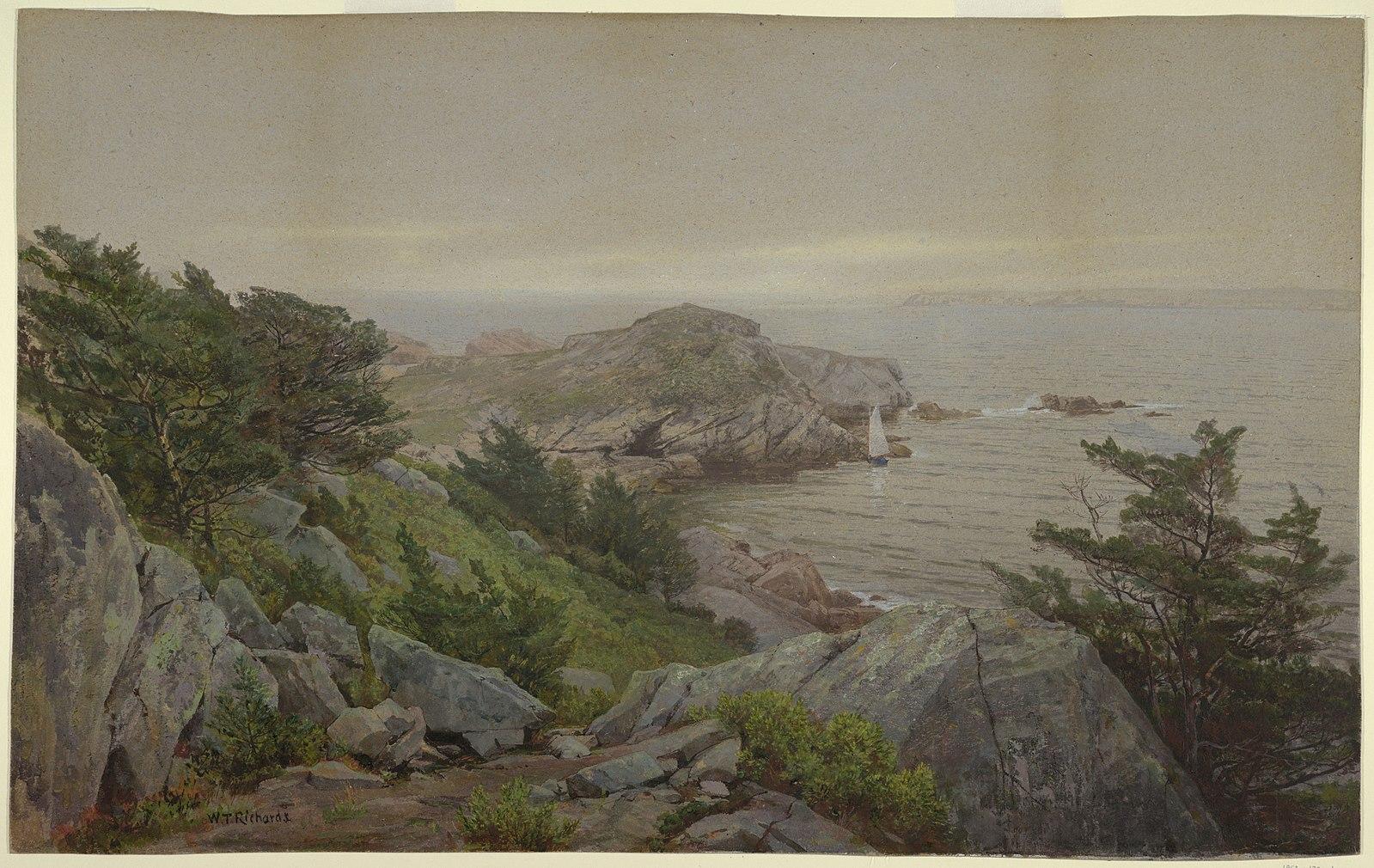 Mackerel Cove, Jamestown RI, c 1877