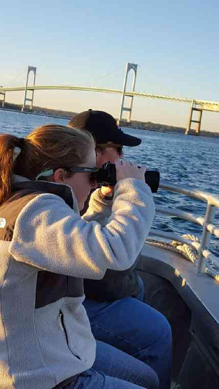 Binoculars on a Seal Tour