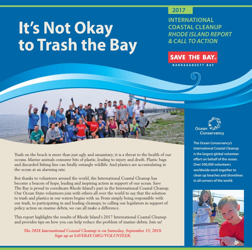 International Coastal Cleanup Report