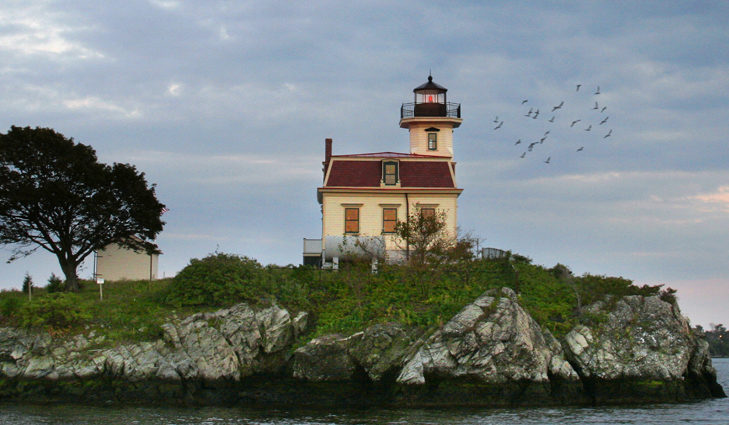 Save The Bay's Northern Bay Lighthouse Tours offer an exclusive opportunity to explore the Pomham Rocks lighthouse and grounds.