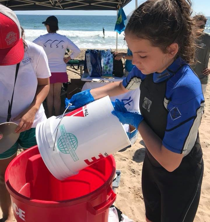 Westerly Town Beach ICC cleanup