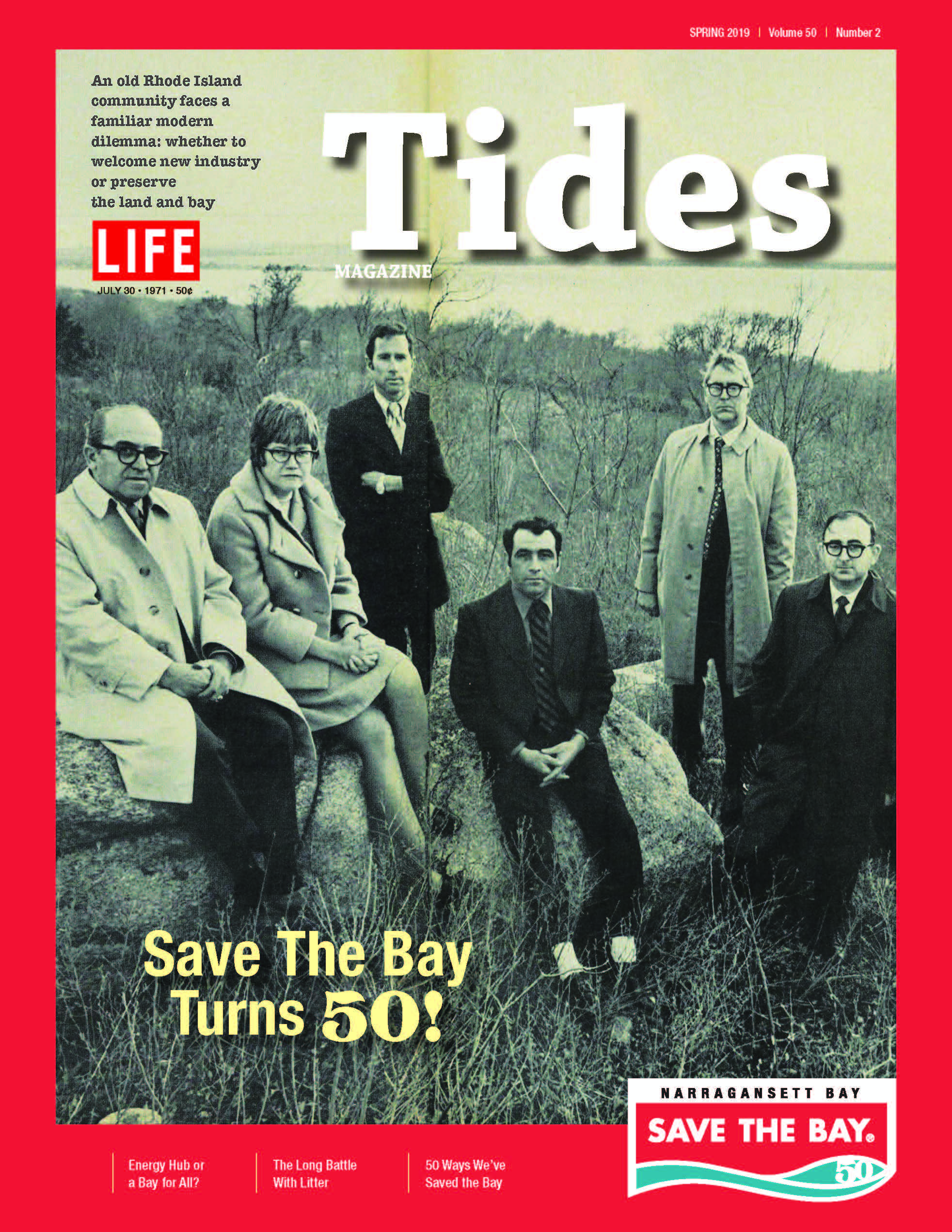 Cover image of Spring 2019 issue of Tides