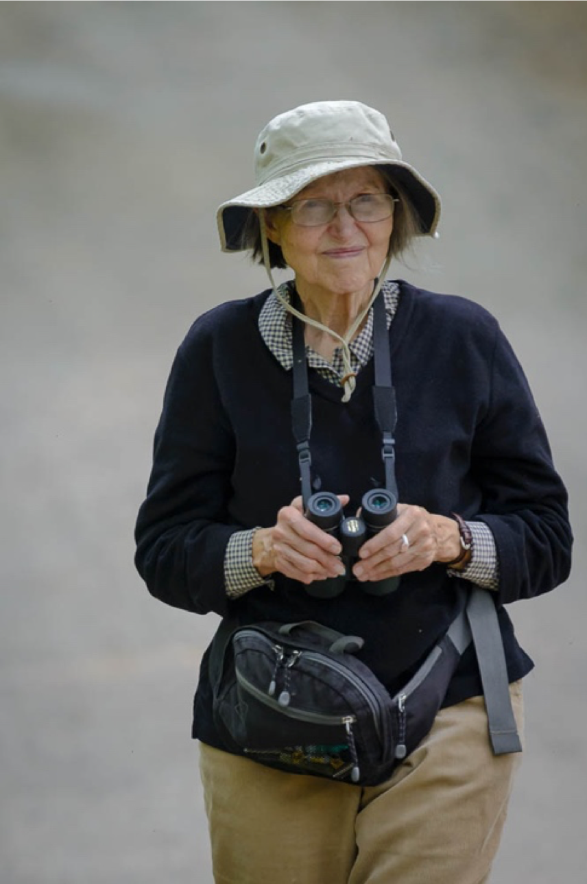 Local environmental legend, Eugenia Marks, who won Save The Bay's Lifetime Achievement Award in 2016.
