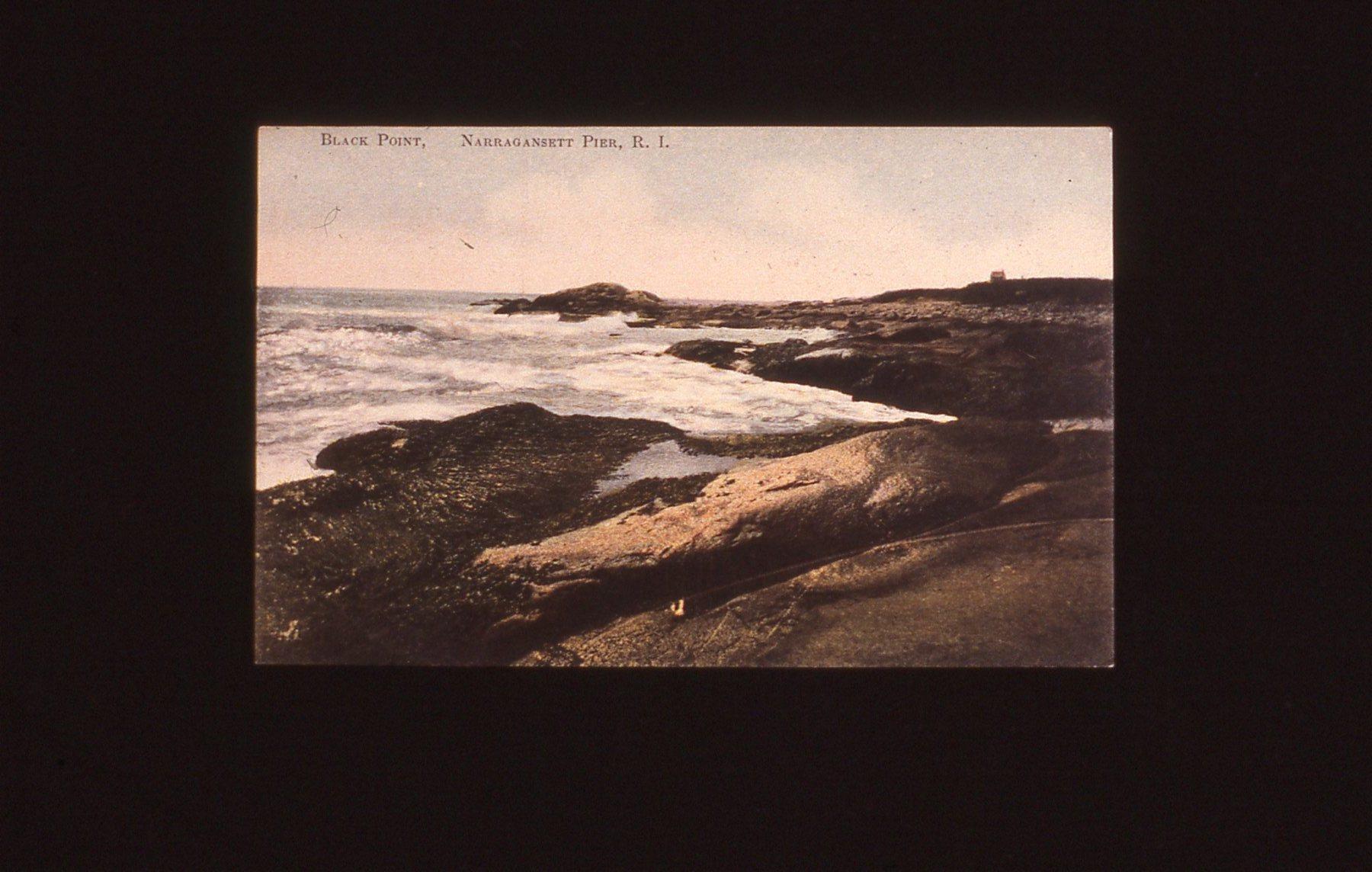 Historic postcard of Black Point in Narragansett, R.I.