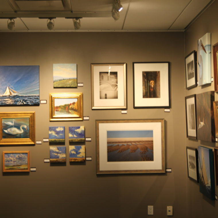 Paintings and artwork on display at Artists for The Bay