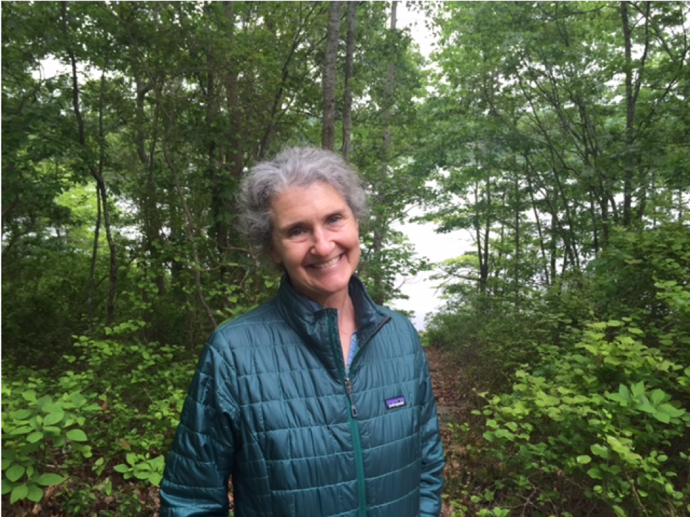 Julie Sharpe, founder of the Conservation Stewardship Collaborative and the Narrow River Land Trust, was the 2016 winner of Save The Bay's Environmental Achievement Award.