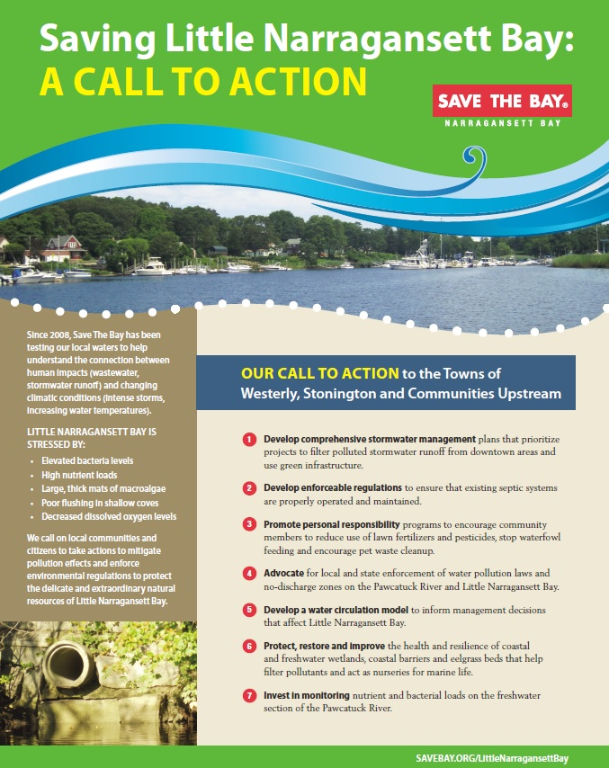 Little Narragansett Bay Call to Action