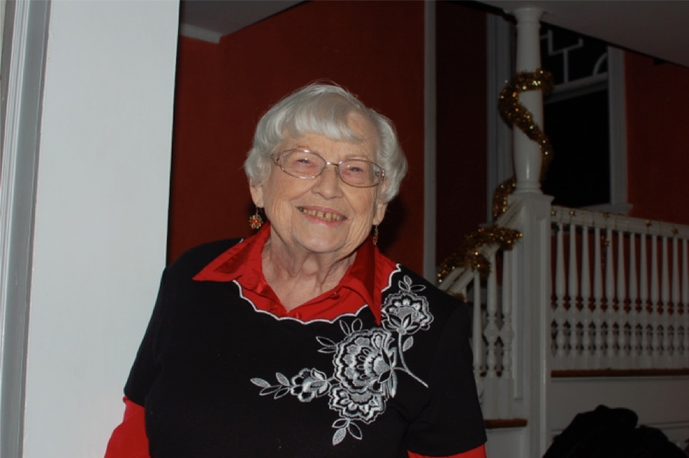 Louise Pryor, shown here, has spent more than forty years volunteering with Save The Bay.