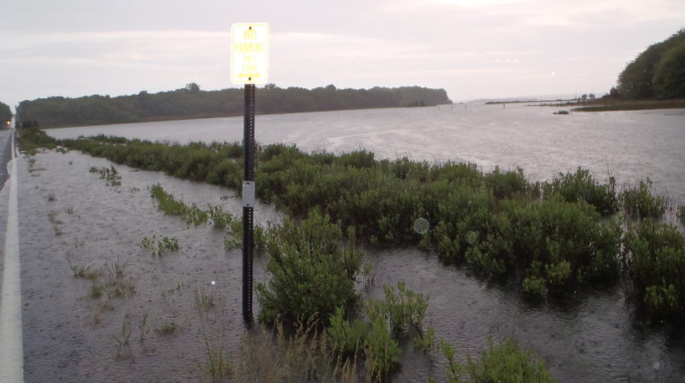 Climate Change is threatening our coastal communities, habitats and public access.