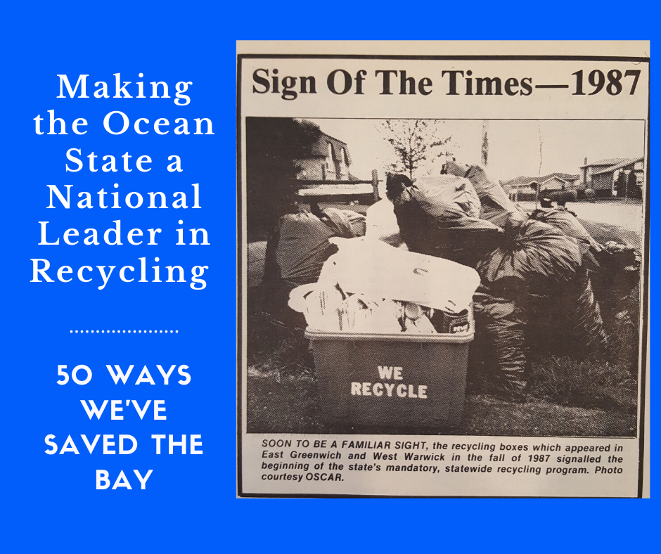 Making the Ocean State a leader in recycling