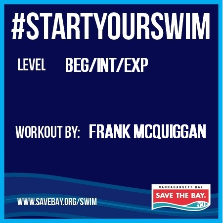 Get back to swimming with Frank McQuiggan's workout