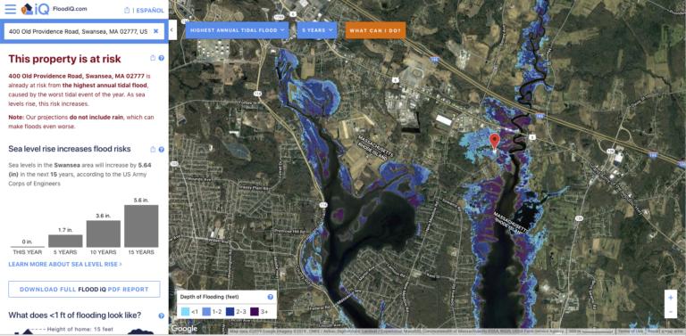 Flood IQ Screen Shot | Save The Bay
