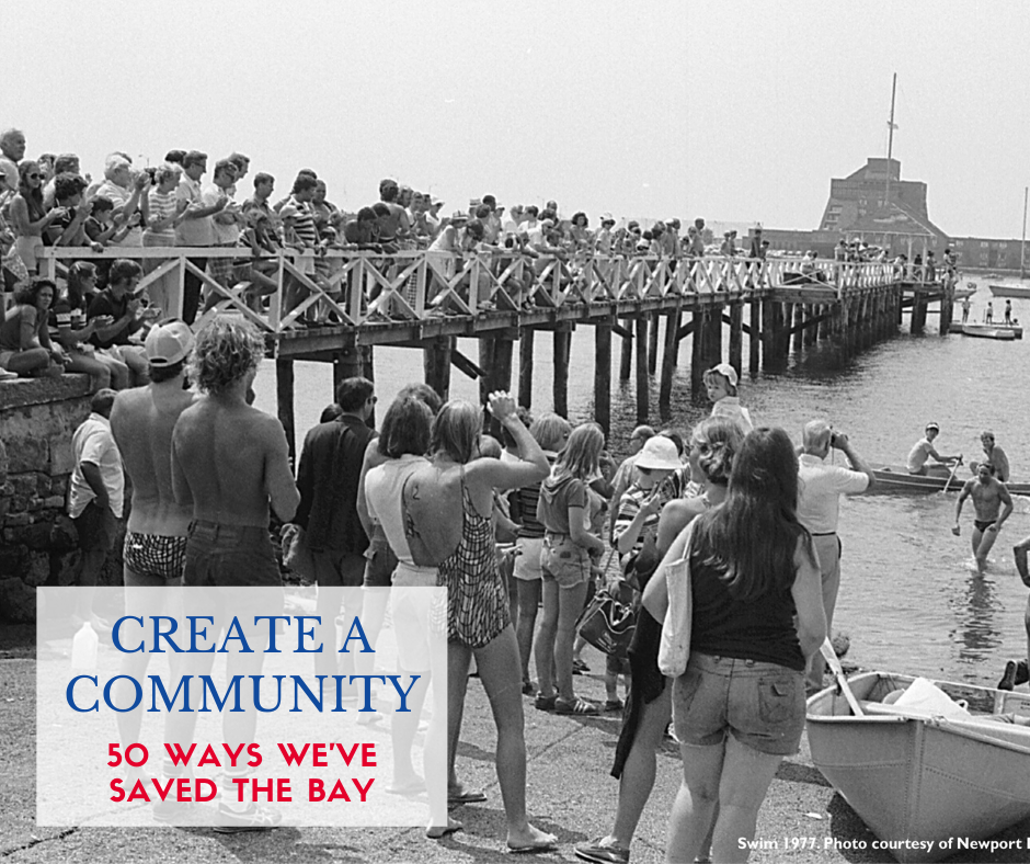 Photo of Save The Bay Swim in the 1970s