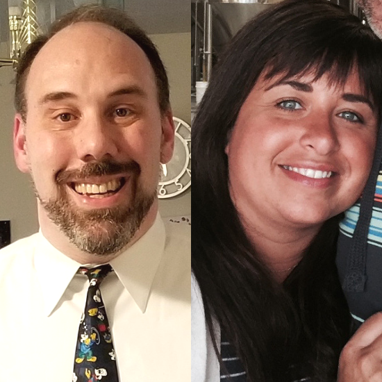 Save The Bay's 2018 Volunteers of the Year, Stacy Coutu and David Boulanger