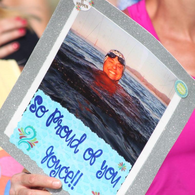 Save The Bay Swim closeup