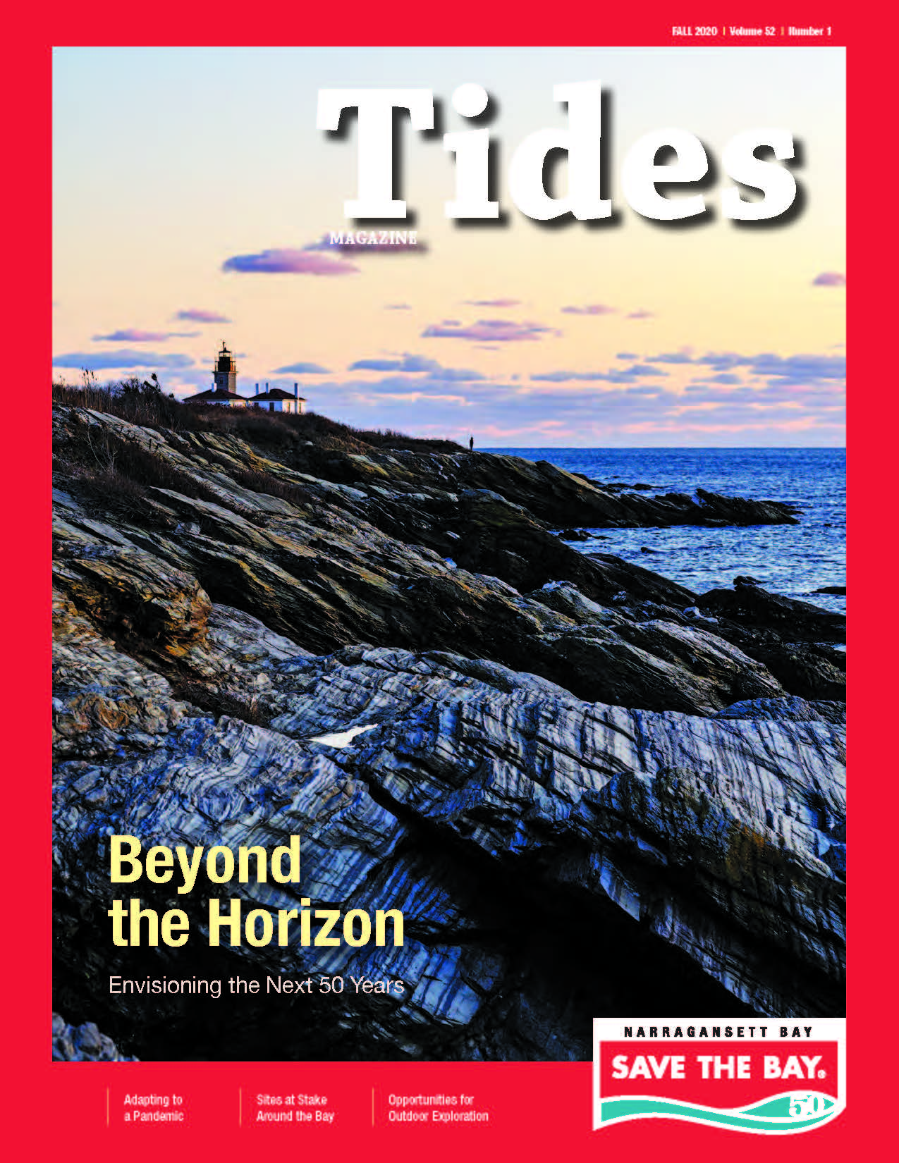 The cover of our 2020 Fall issue of Tides