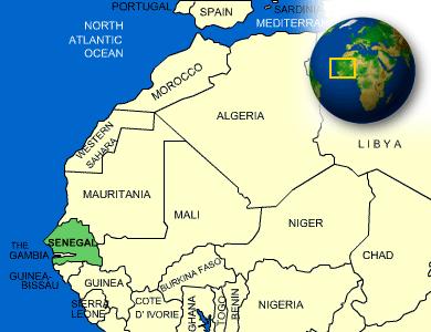 MAP: Senegal